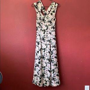 Vintage 80s CDC floral summer dress